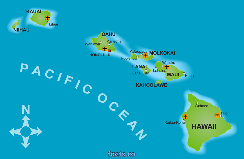 hawaiimapwithcities
